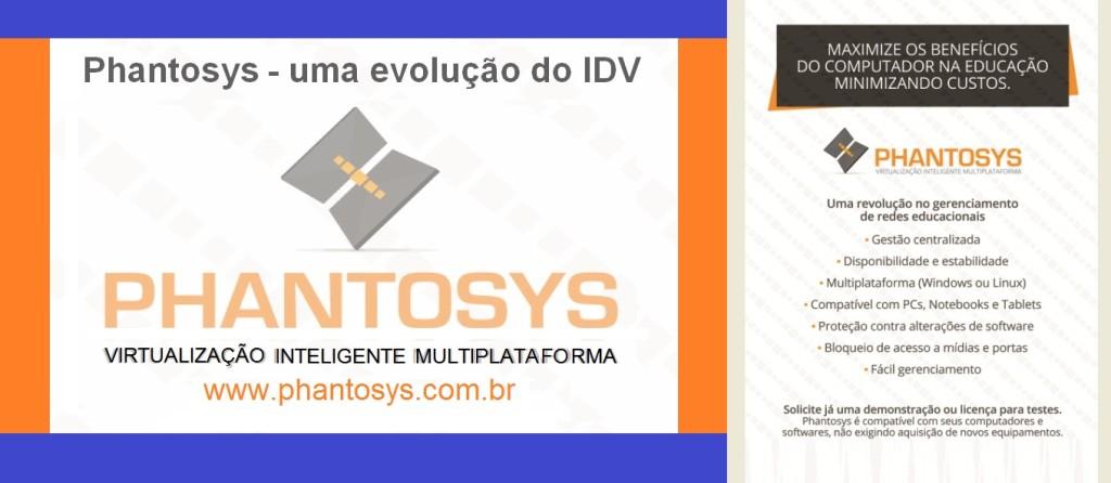 Phantosys - virtualização inteligente multiplataforma