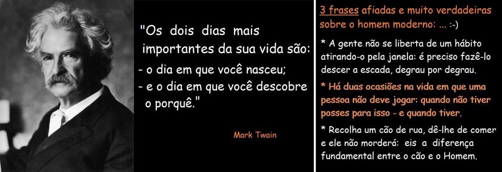 Vivências de Mark Twain